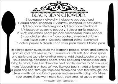 Blackbeanrecipe
